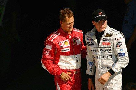 Räikkönen ne se compare pas à Schumacher...