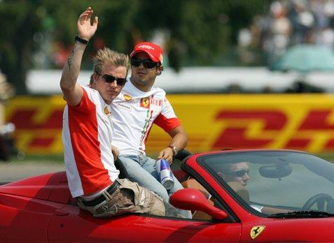Kimi Räikkönen & Felipe Massa