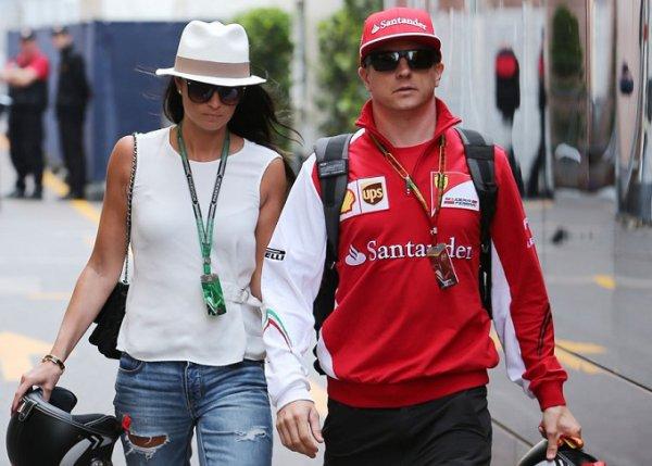 Kimi Räikkönen bientôt papa...