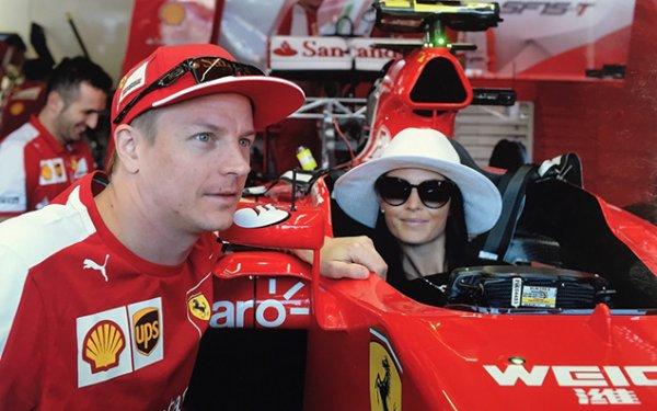 Kimi Räikkönen & Minttu Virtanen