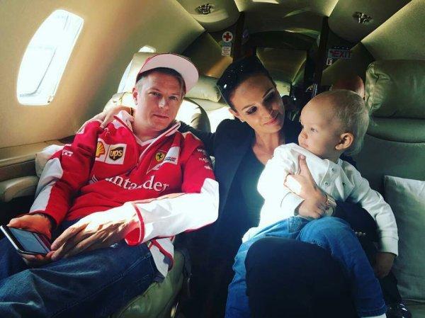 Kimi Räikkönen & Minttu Virtanen avec Robin