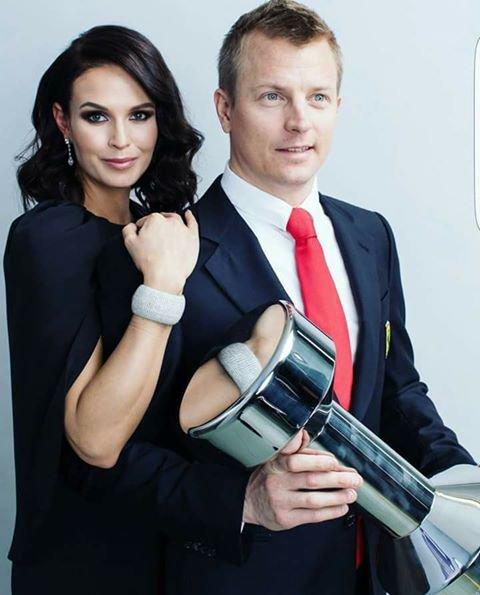 M. & Mme Räikkönen
