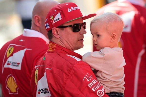 Kimi Räikkönen avec Robin