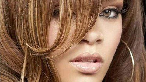 Rihanna brune-raide