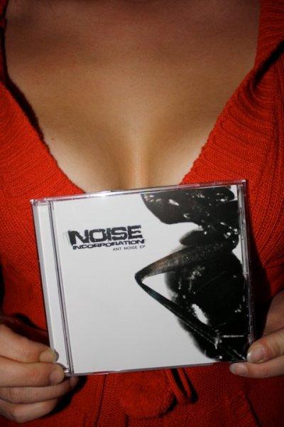 """CD 5 Titres """" Ant noise """" !!!"""