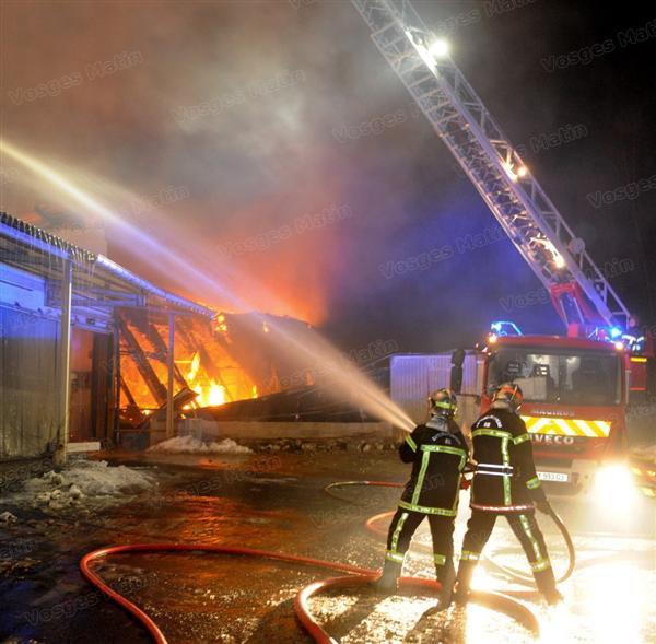 incendie a la trefillerie de xertigny où il y avait ma voiture