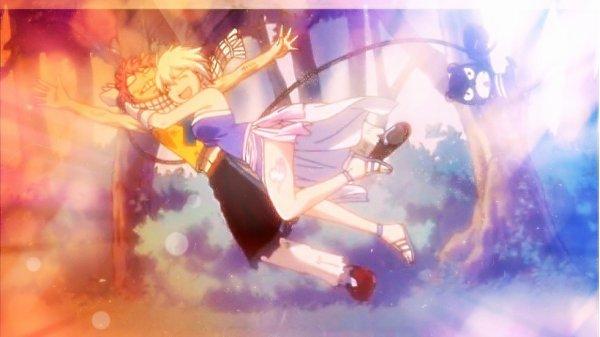 Natsu et Lisanna :) Le premier amour de Natsu :p