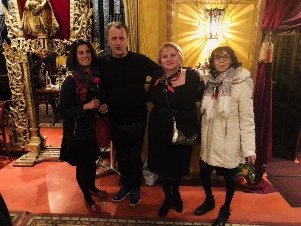 """soirée au restaurant """"K. Baroque"""", le 7 mars 2019"""