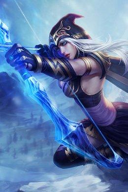 Ashe de League of Legend