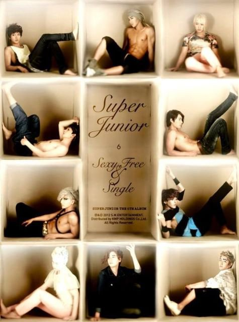 Sexy , free and single  / Sexy , free and single -- Super Junior  (2012)