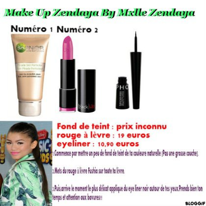 Make Up Like Zendaya
