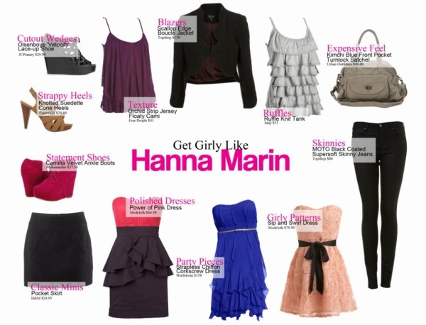 Dress Like Hanna dans PLL
