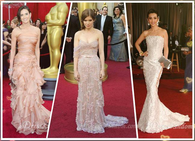 The style of the dresses