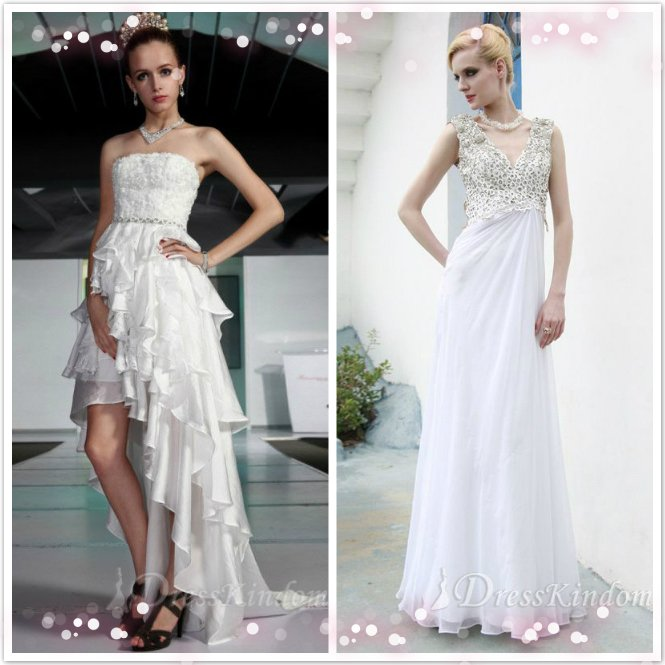 Several occasions to wear evening dress