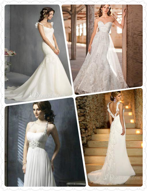 learning to choose wedding dress