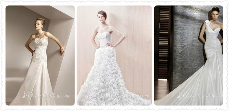 How to buy plus size bridal gowns online?