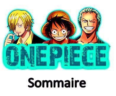 SOMMAIRE!!!! :D
