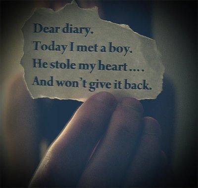 He stole My heart.