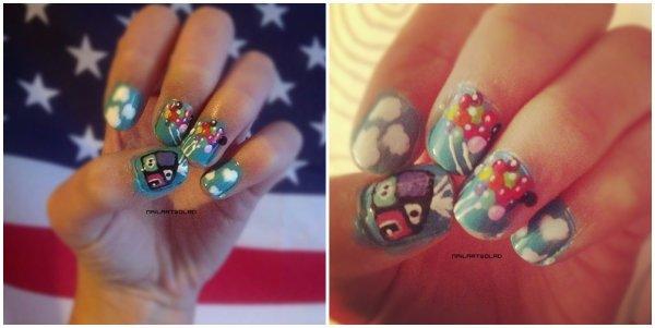 ✦ Up nail art. ✦