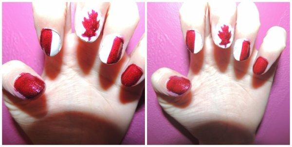 ✦ Canadian flag (Façon Noel). ✦