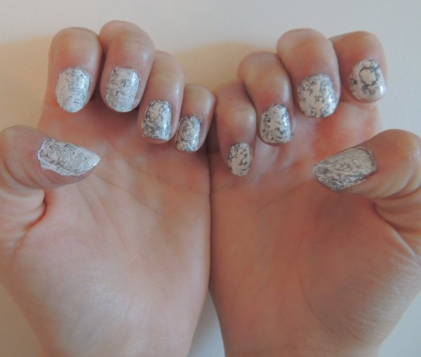 ✦ Stone marble nails. ✦