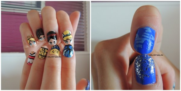 ✦ Nail art princesses. ✦
