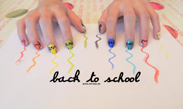 ✦  Back To School - Crayon (n°1). ✦
