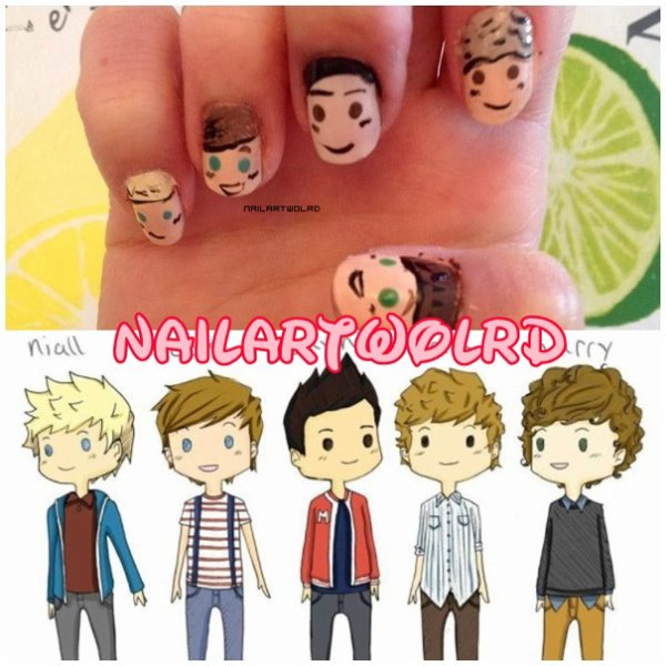 ✦ One direction - Cartoon. ✦