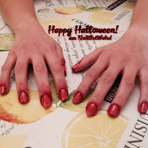 ✦ Halloween nail art n°1. ✦