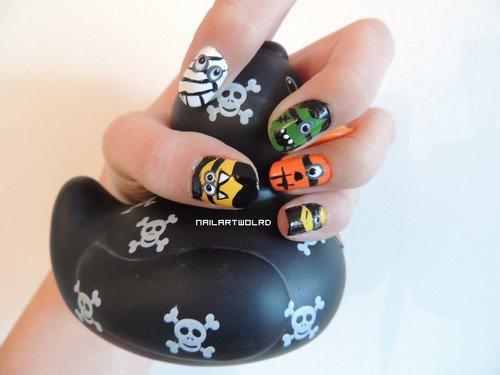 ✦ Halloween nail art n°3. ✦