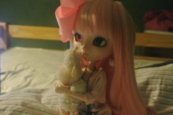Arisu en pyjama!