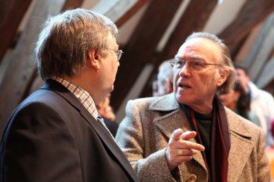 Pierre avec Philippe Herman de Vivacité