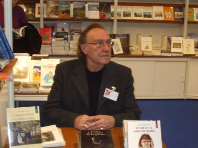 Pierre à la foire du livre de Bruxelles 2012