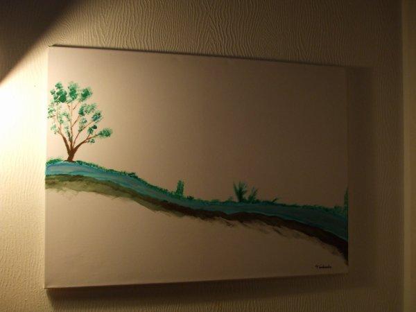 Tableau de Pierre Vanhemelen à vendre.