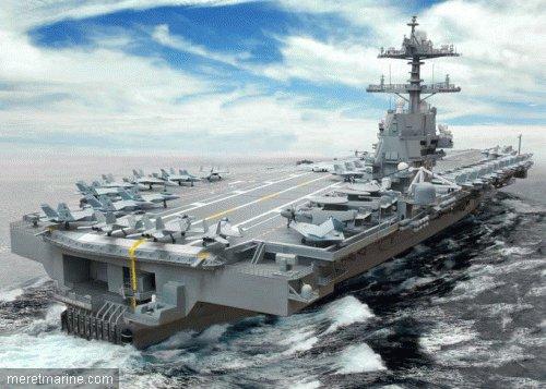 USS GERALD  R. FORD ( DERNIER DES P A AMERICAIN)