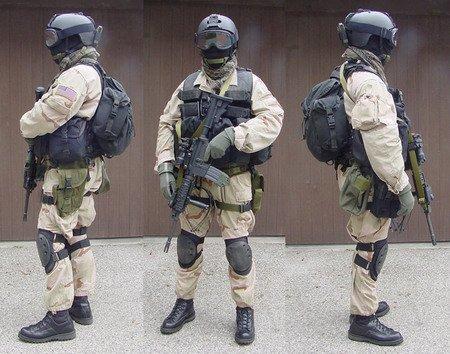 FORCES SPECIALES ETRANGERES : LA DELTA FORCE