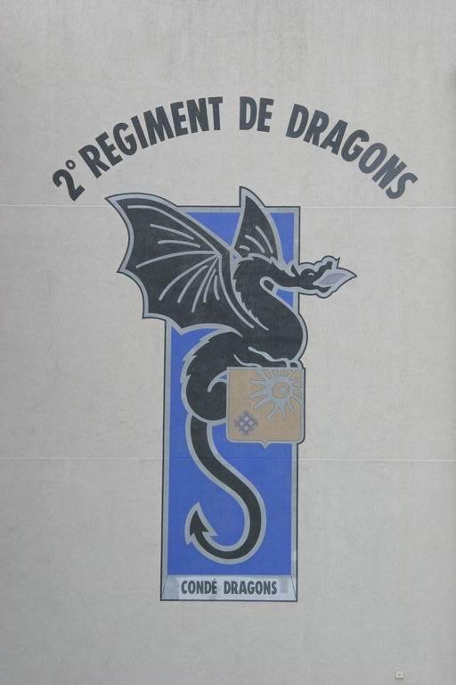 2e REGIMENT DE DRAGONS-NUCLEAIRE-BIOLOGIQUE ET CHIMIQUE
