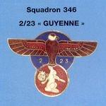 """ESCADRON 346 """" GUYENNE """""""