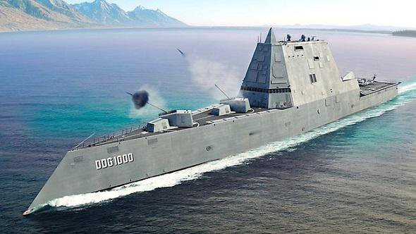 USS ZUMWALT : DESTROYER FURTIF