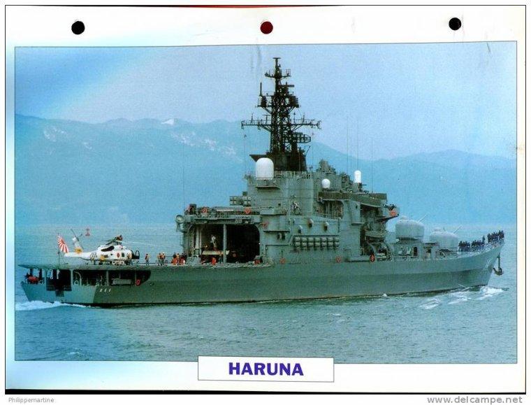 PORTE HELICOPTERE HARUNA