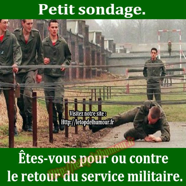 LE RETOUR DU SERVICE MILITAIRE CONTINUE DE FAIRE DEBAT