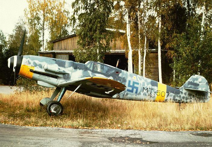 LE Bf 109 FINLANDAIS