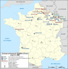 BASES  MILITAIRES AMERICAINES EN FRANCE