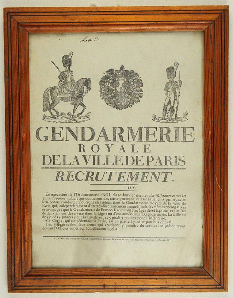 ANCIENNES AFFICHES DE RECRUTEMENT MILITAIRE