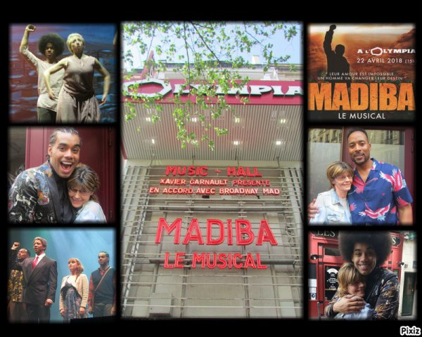 HOMMAGE A MADIBA  IN SHOW LE 22/04/2018