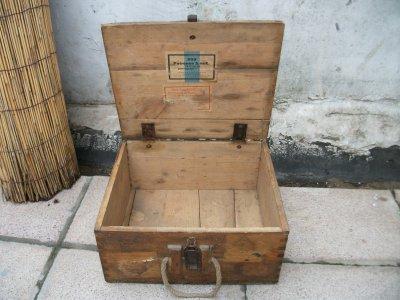 caisse de munition allemande pour mauser milliteria allemand. Black Bedroom Furniture Sets. Home Design Ideas