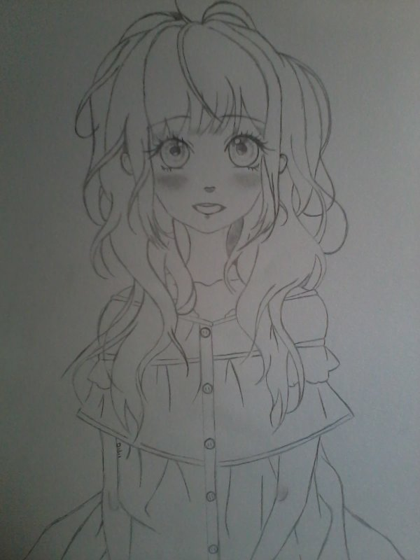 Mon dernier dessin -- ♥