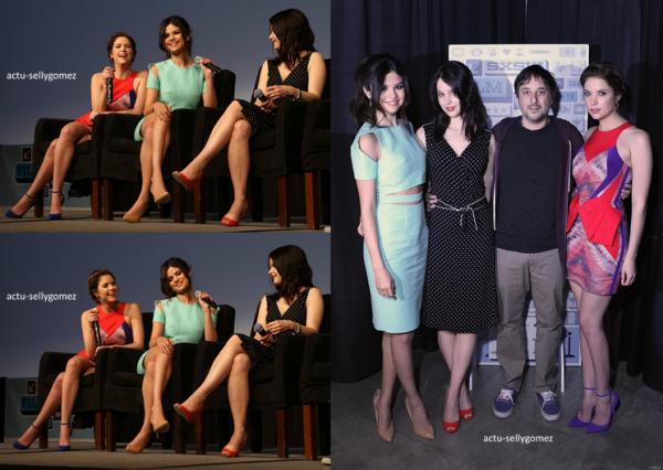 11 mars 2013 : Selena était à une conférence de presse pour Spring Breakers, au Texas