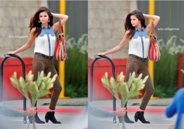 Selena était sur le set de son prochain film « Rudderless »