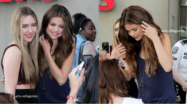 30 mai 2013 : Selena arrivant à la radio Kiss 92.5, à Toronto